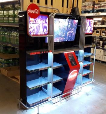 coca cola ekspozycja multimedialna